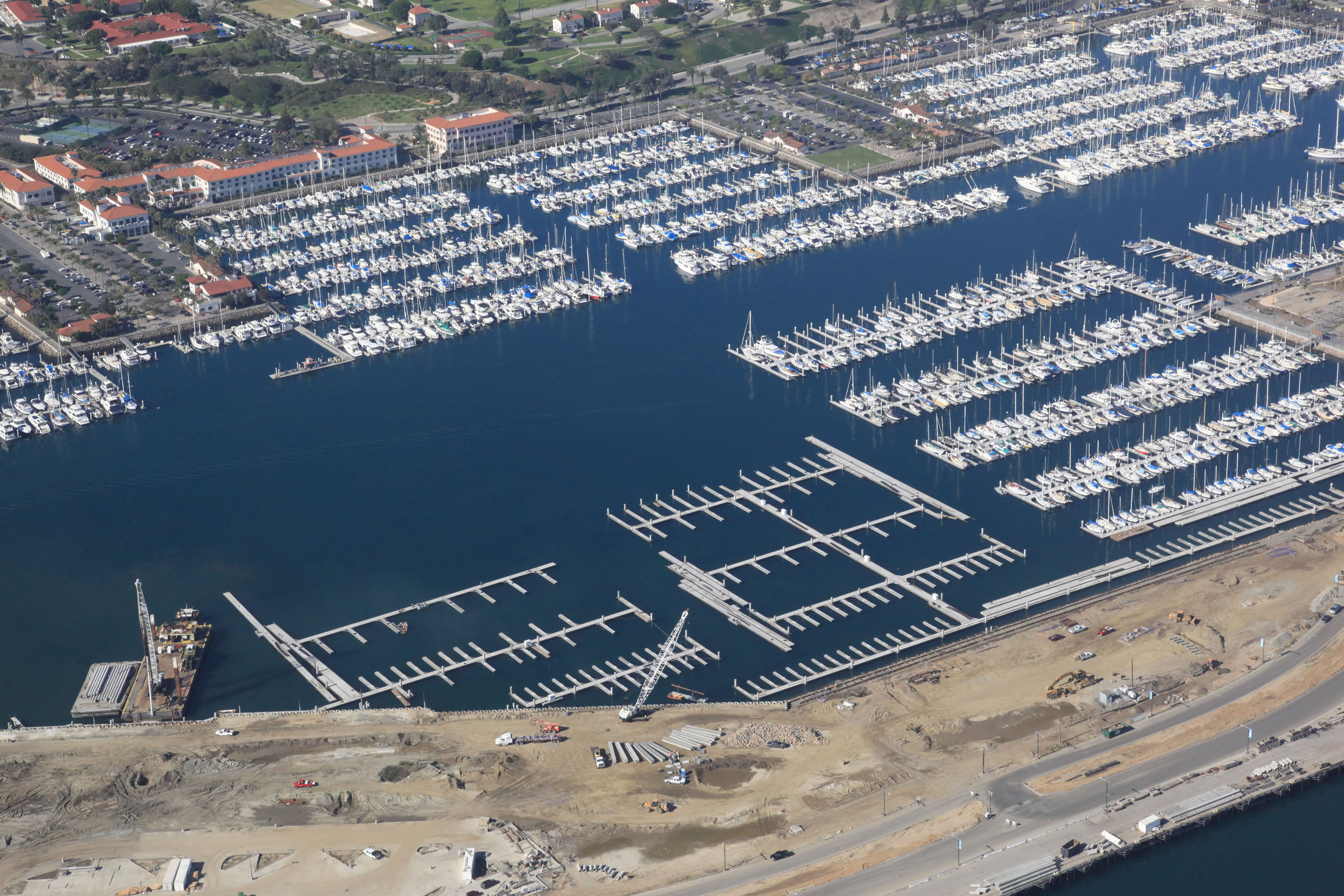 Dutra Group | Marine Construction | Cabrillo Way Marina Rehabilitation