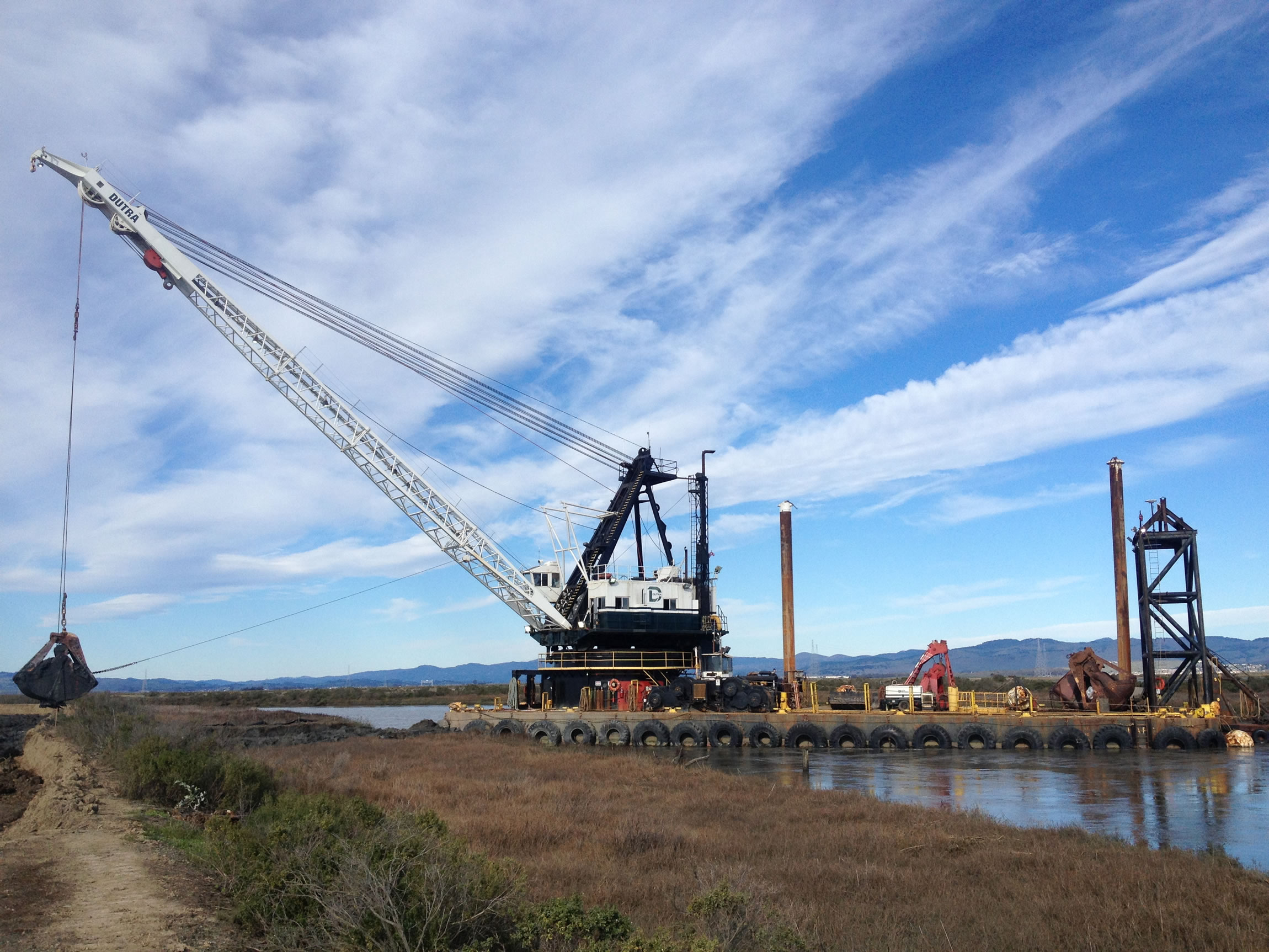 Dutra Group | Marine Construction | Cullinan Ranch Wetland Restoration, Phase IV