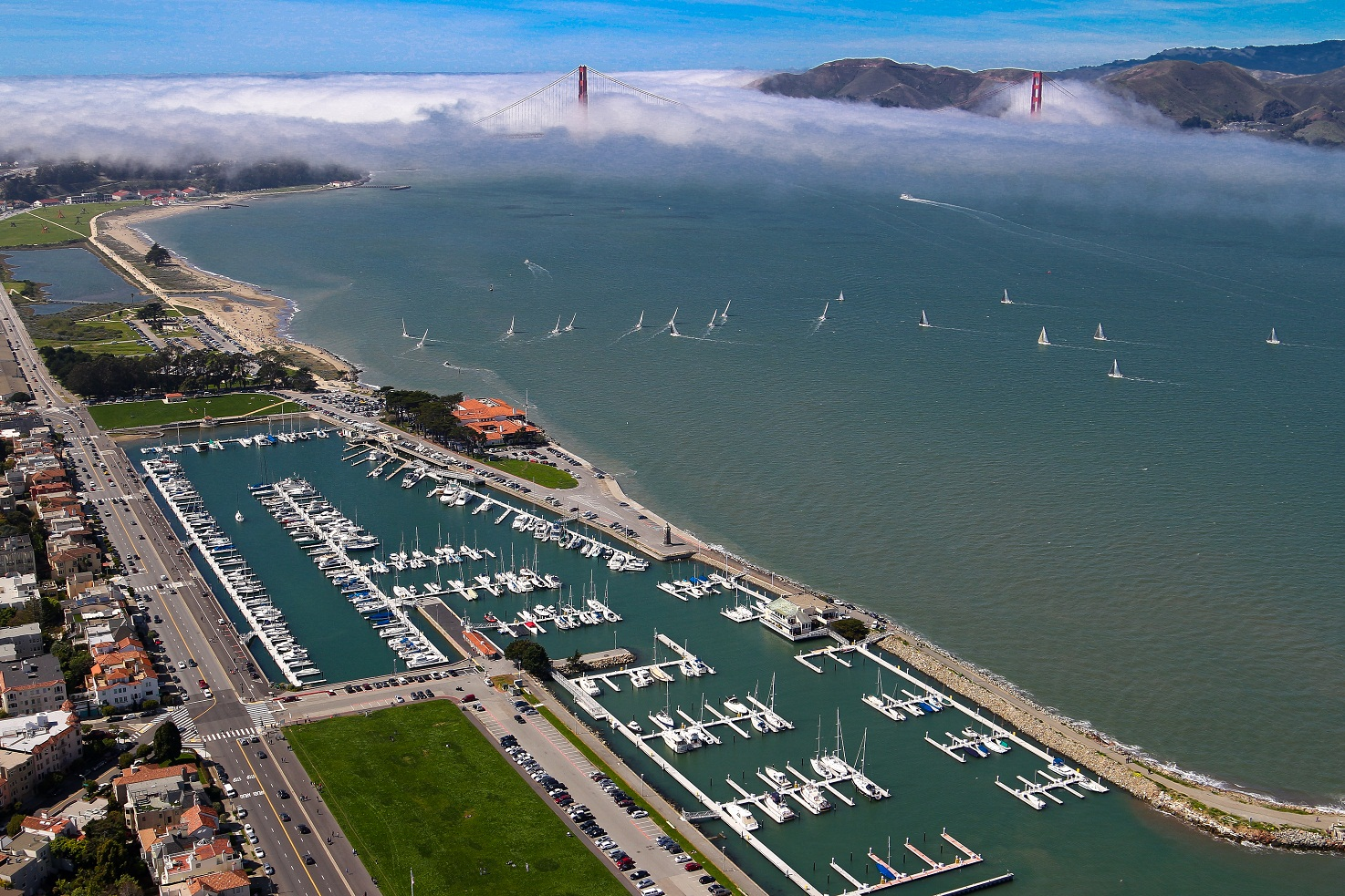 Dutra Group | Marine Construction | San Francisco Marina West Harbor Renovation