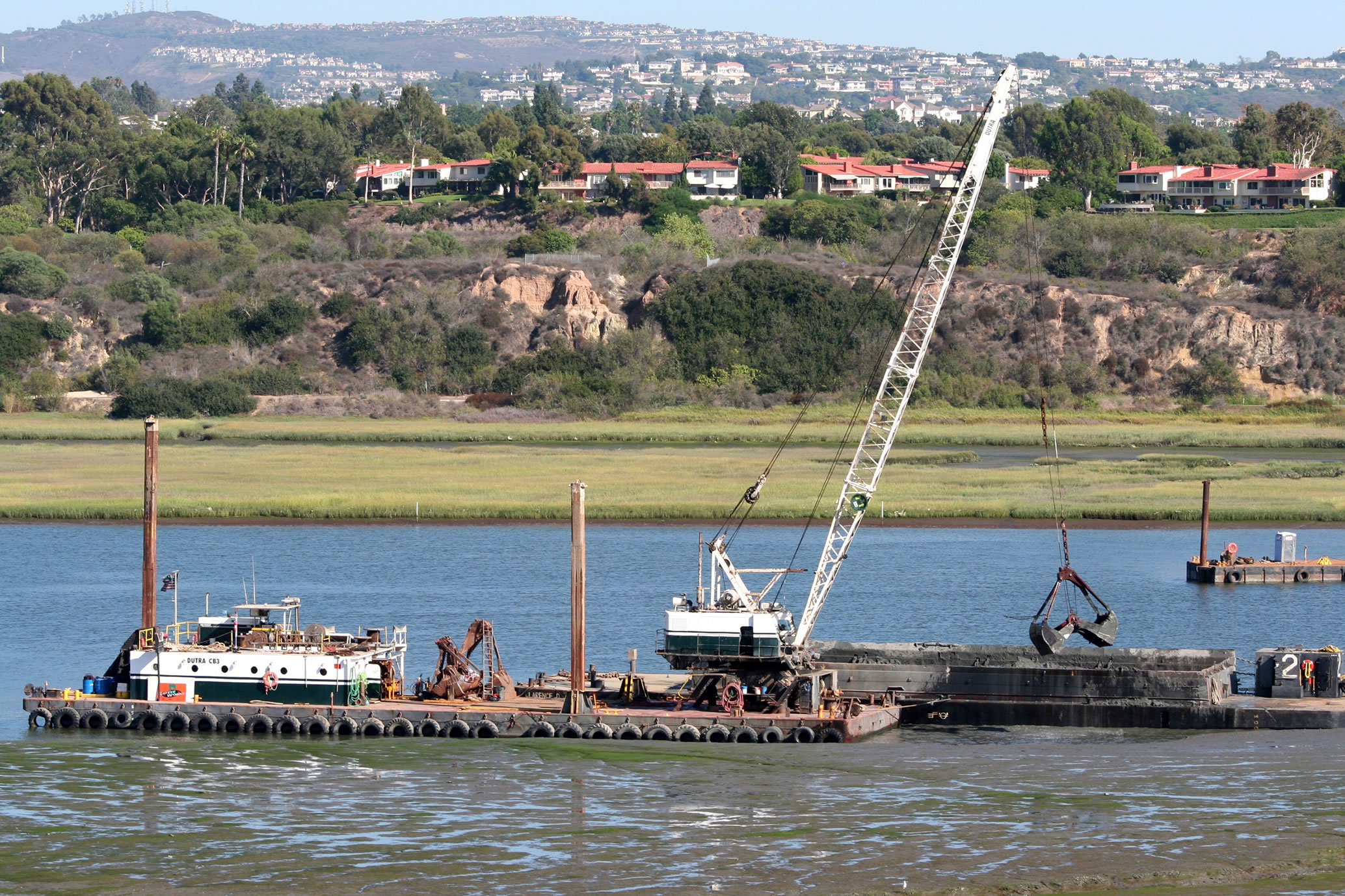 Dutra Group | Dredging | Upper Newport Bay Ecosystem Restoration Phase I & II