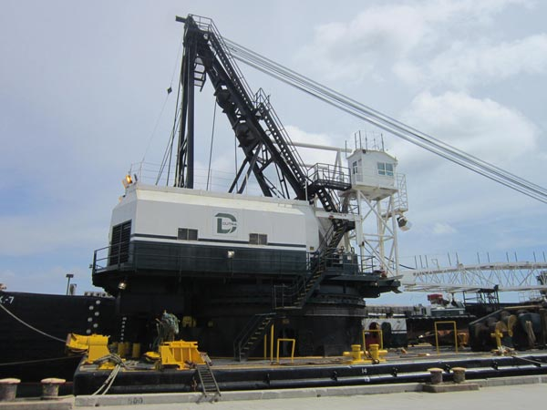 Dutra Group | Dredging | Canaveral Harbor 44 Foot Channel 123