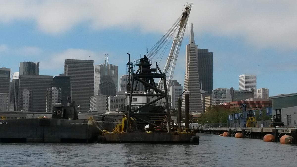 Dutra Group | Dredging | San Francisco Port Maintenance Dredging 2016 - 2020