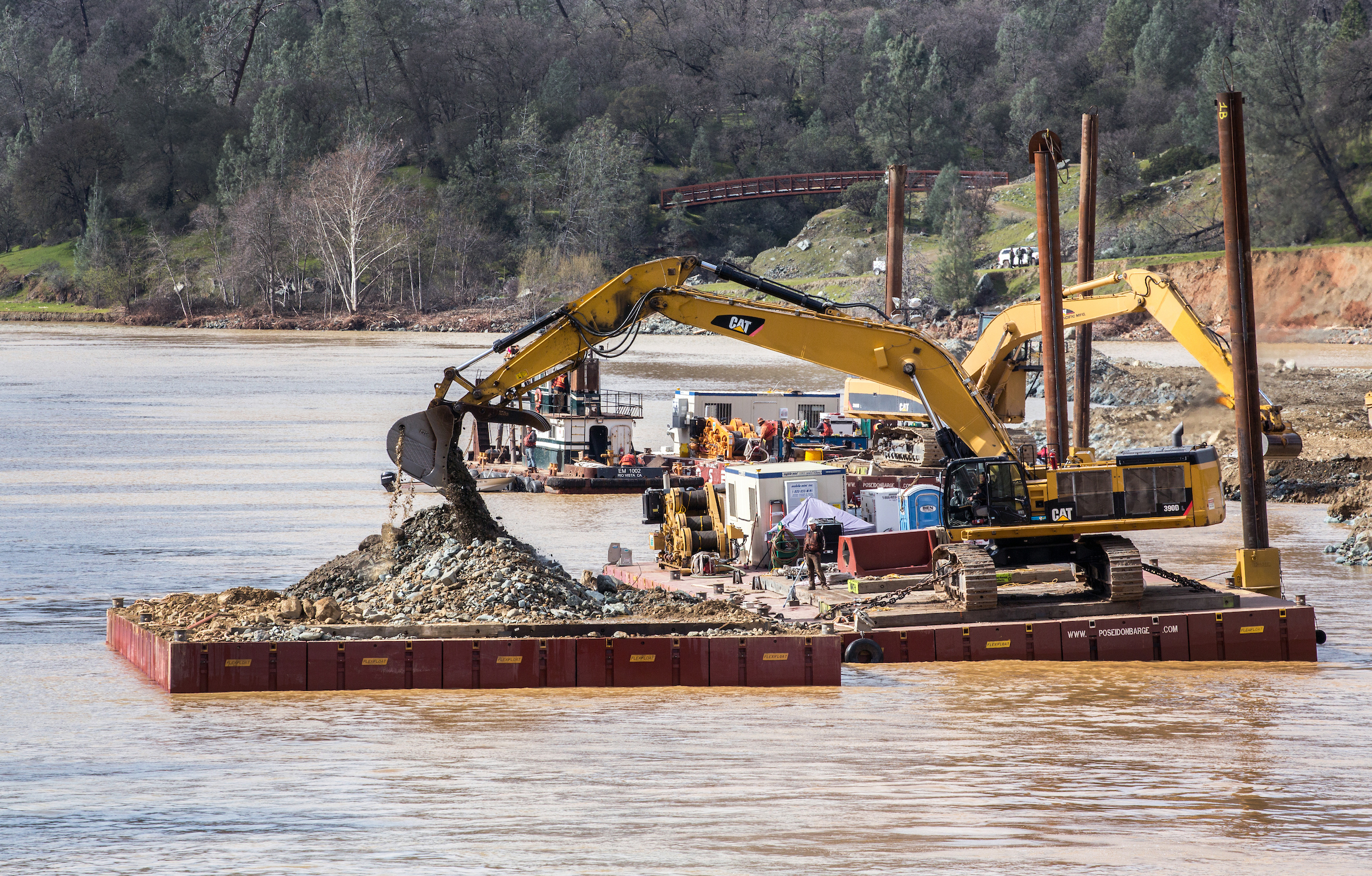 Dutra Group | Dredging | Emergency Dredging and Debris Removal Feather River